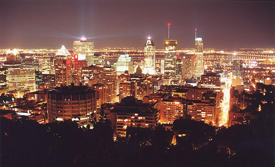 Montréal depuis le Mont-Royal